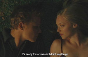 Photo found with the keywords: Amanda Seyfried movie quotes