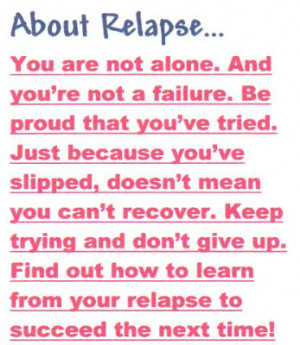 Dr. Silkworth's Rx for Relapse Prevention