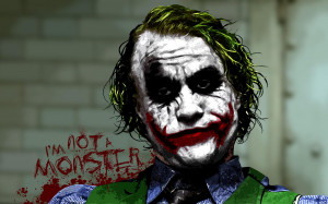 batman joker wallpaper Let the Villain, not hero, get the girl!