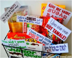 Pun Filled Gift Basket