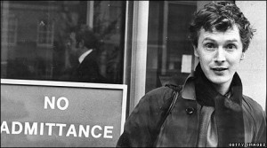 Malcolm McLaren pictured in 1977