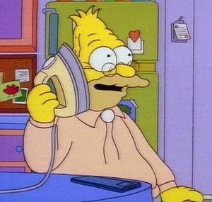 Grandpa Abraham Simpson - 'The Simpsons'