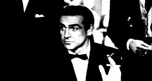 Black & White: Sean Connery as James Bond in Dr. No