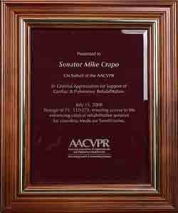 Awarded by the American Association of Cardiovascular and Pulmonary ...