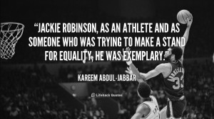 jackie robinson quotes about racism