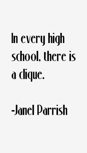 Janel Parrish Quotes & Sayings