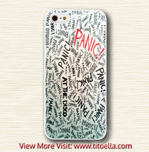 Home Page Phone Case iPod Case Panic At The Disco Quotes Phone Cases