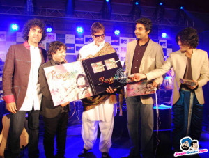 Launch of Kailash Kher's album 'Rangeele'