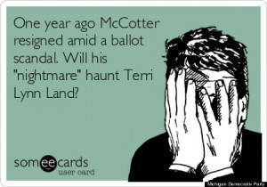 One year later, what's your opinion of the McCotter petition scandal ...