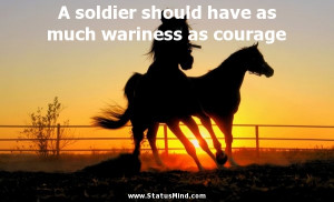 ... wariness as courage - James Fenimore Cooper Quotes - StatusMind.com