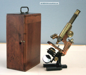 Antique Carl Zeiss Microscope