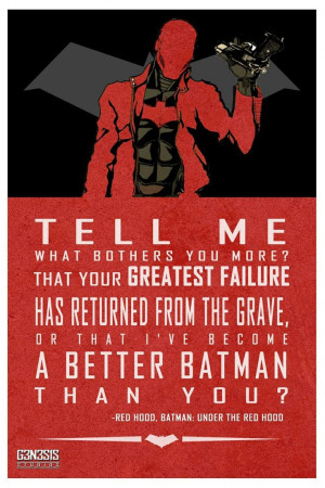... the Red Hood is one of the best DC animated films I've ever seen