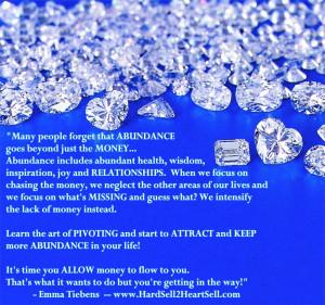Abundance Quotes Abundance includes abundant