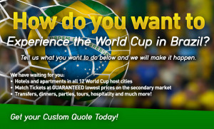 Custom World Cup Package Quotes