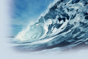 Ocean Waves Live Wallpaper HD with calming effect showing a blue ocean ...