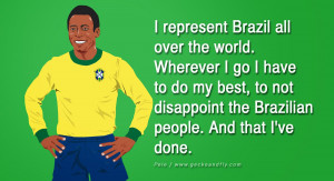 12 Inspiring Quotes from Pele the Greatest Football Legend.