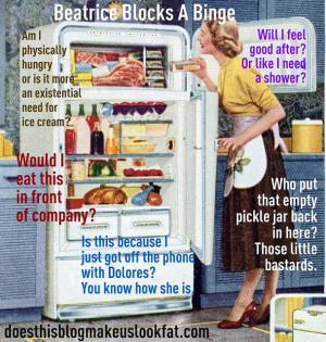 ... binge eating disorder . Take a moment to Block a Binge with Beatrice