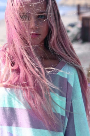 ... Model Grunge nice Alternative pink hair ya grunge hair soft grunge