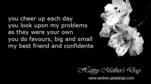 mothers day sayings daughter to mom