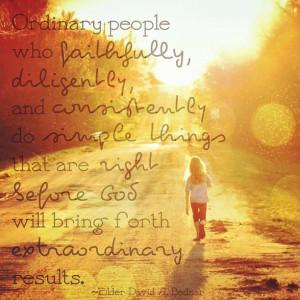 Elder David A. Bednar #quote #inspiration #inspirational #sunshine # ...