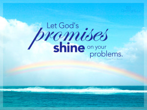God's Promises - Wallpaper