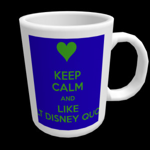 KEEP CALM AND LIKE WALT DISNEY QUOTES