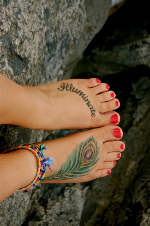 Diseño de Tatuajes en los Pies - Feet Tattoos 2