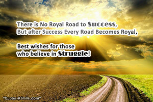Road to Success Quotes