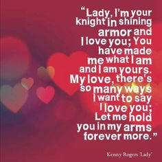 Lady by Kenny Rogers More