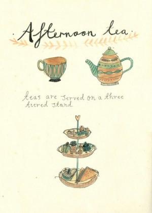 Afternoon Tea Food