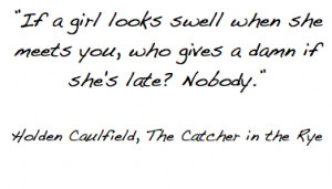 The Catcher in the Rye. Posted in Quotes. Tagged Books. The Catcher in ...