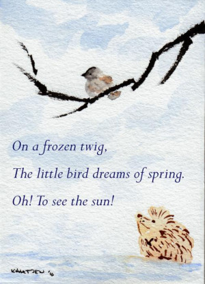 spring haiku poems