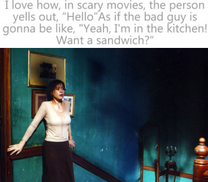 Scary Movie Quotes