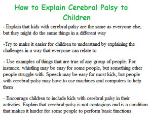 Cerebral Palsy Quotes Who have cerebral palsy.