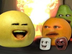 Grapey, Marshmellow, Midget apple, Annoying orange, Big pear - Fotku ...