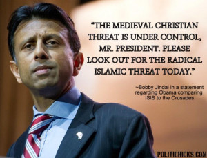 Bobby Jindal quote: