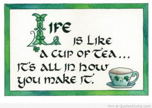 Tea Time Quotes - screenshot
