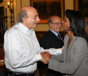 Walid Jumblatt Daughter Photos