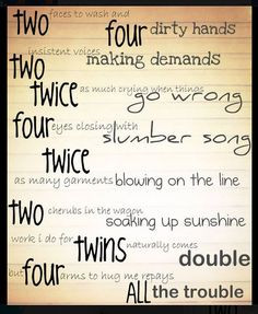 Twin Poem - hope you enjoy - brought to you by www.twinsgiftcompany.co ...