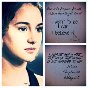 Allegiant quote non spoilery I finished it Monday and my soul is ...