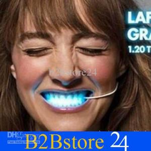 Luminous braces Luminous teeth Halloween party gift funny LED dental ...