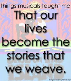 ॐ Broadway Musical Quotes ~ Once on this Island More