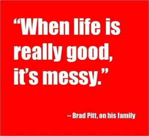 Brad pitt, quotes, sayings, on life, quote