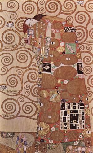 Fulfilment, 1905 by Gustav Klimt