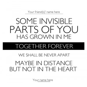 and forever to say goodbye a good bye is never painful unless you re ...