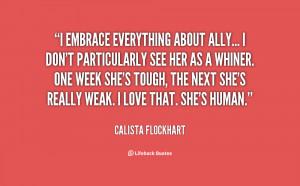 Calista Flockhart Quotes