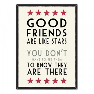 Friends, Star Quote