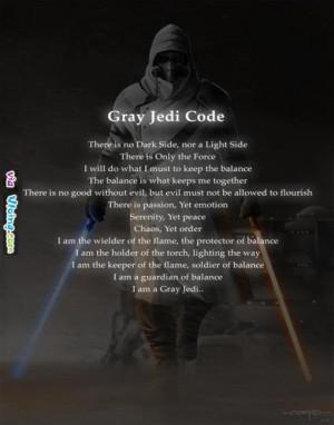 Gray Jedi Code
