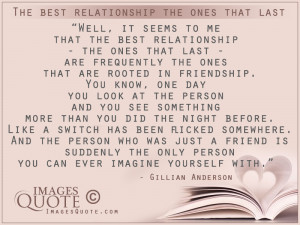 The best relationship the ones that last – Relationship Quote