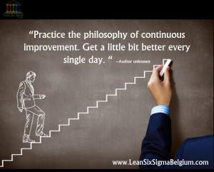 Lean Continuous Improvement Quotes